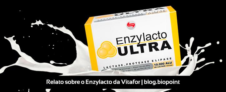 Relato sobre o Enzylacto, da Vitafor