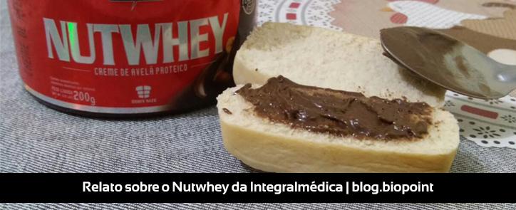Relato sobre Nutwhey, da Integralmédica