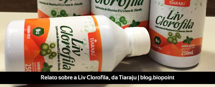 Relato sobre a Liv Clorofila, da Tiaraju