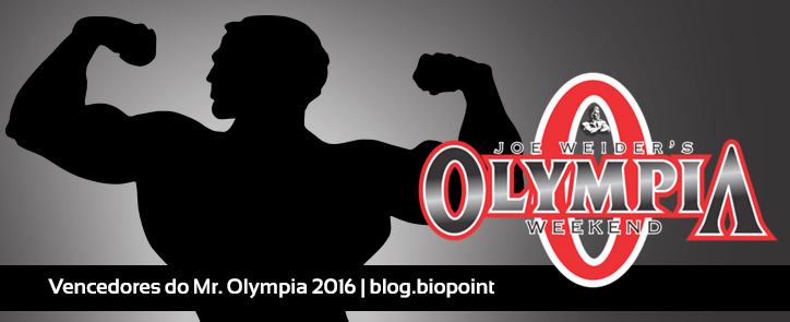 Vencedores do Mr. Olympia 2016