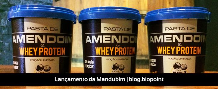 Lançamento: Pasta de Amendoim e Whey Protein com Avelã