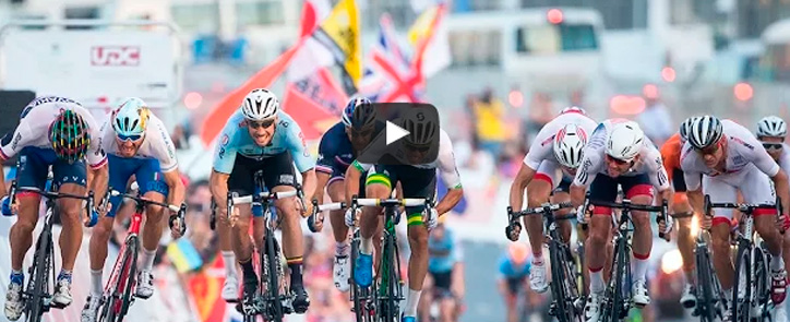 [video] [peter sagan] Chegada do mundial de ciclismo 2016