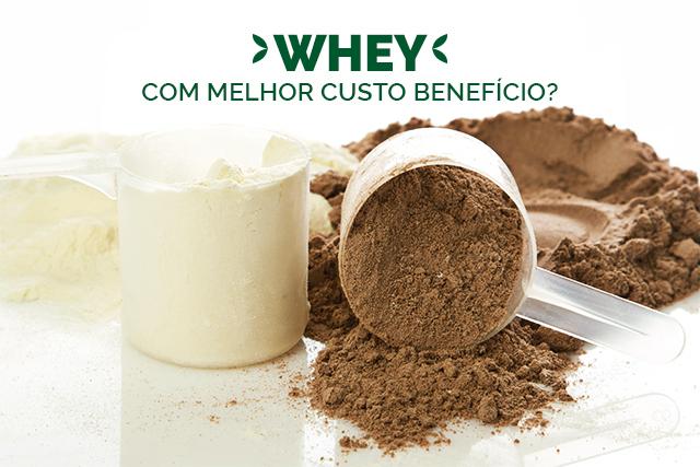Whey Protein com melhor custo X benefício